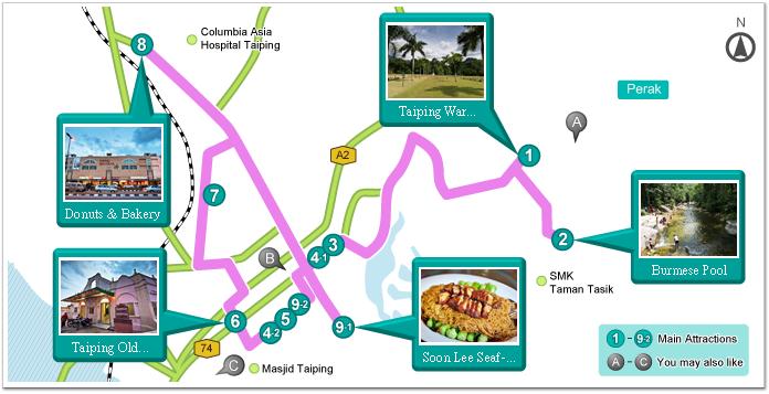 Old Times At Taiping Travel Itinerary Garmin Malaysia Home
