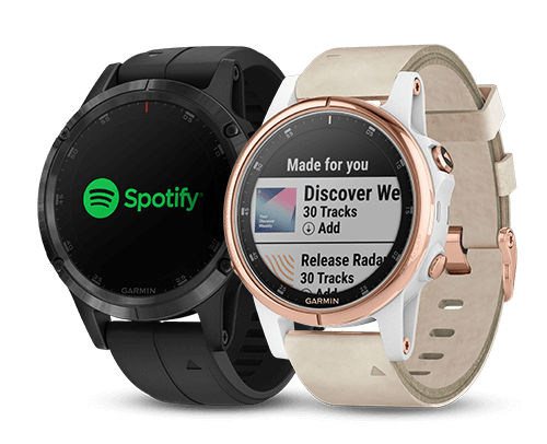 Spotify is now available - On select Garmin devices