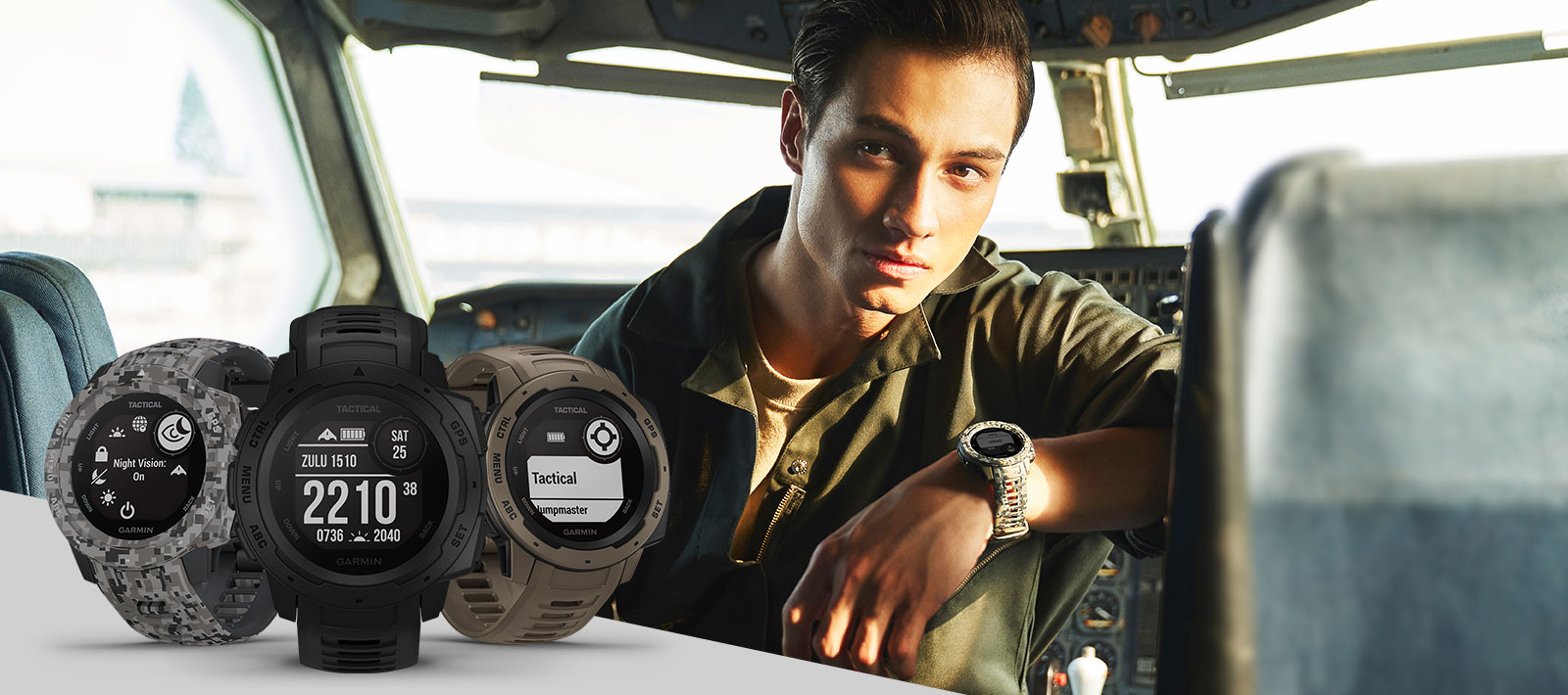 Instinct Series - Tactical edition , outdoor gps watch Monitor