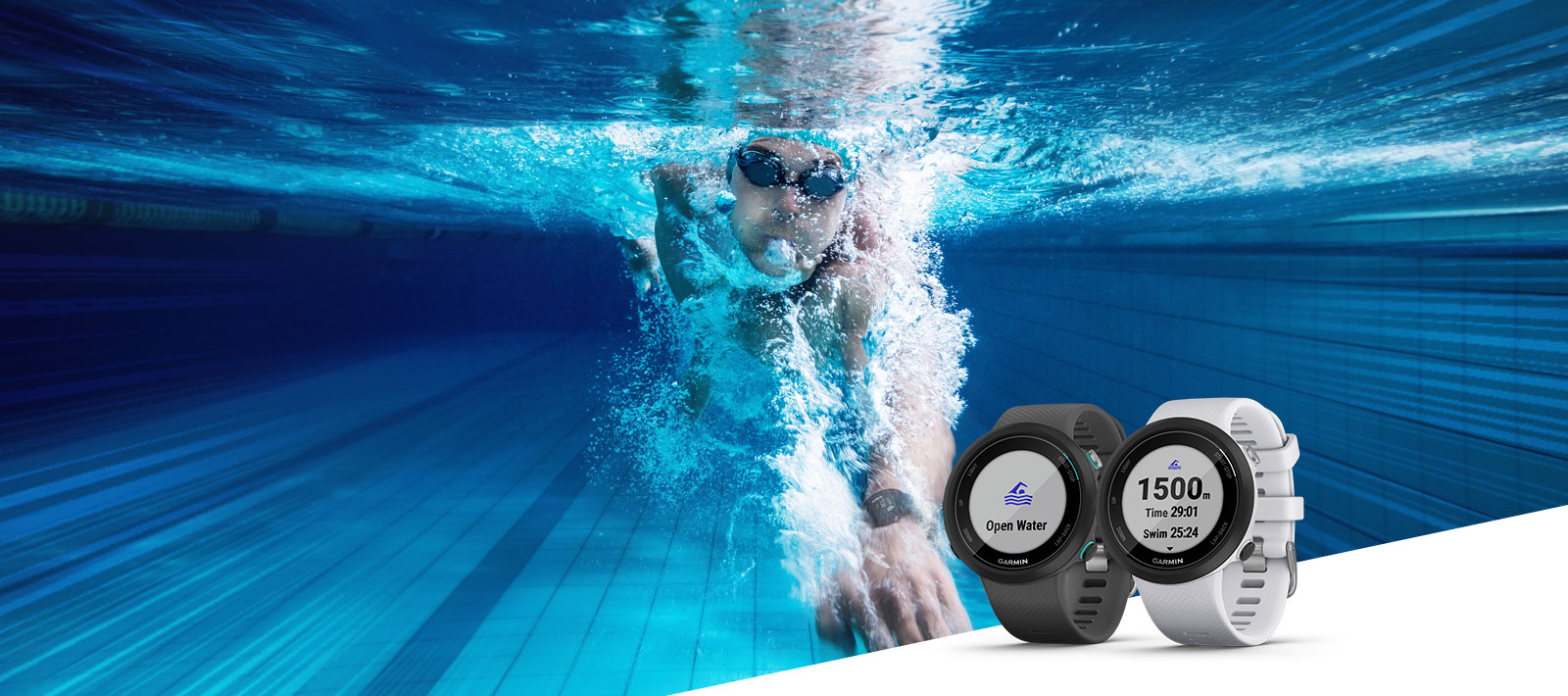 Garmin Swim 2 - GPS Swimming Smartwatch for the Pool and Open Water