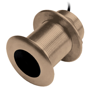 Bronze Thru-Hull Mount Transducer with Depth & Temperature (0° tilt) - Airmar B150M