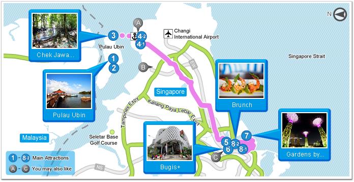 At One With Nature Pulau Ubin Travel Itinerary Garmin Malaysia Home