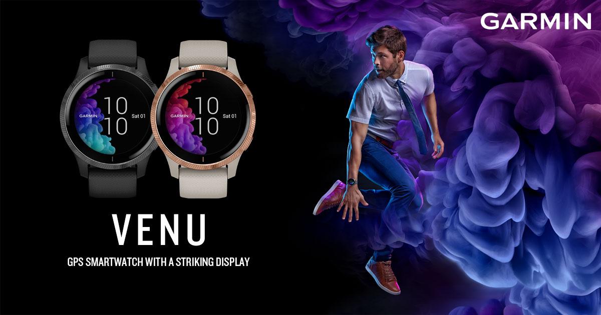 Venu GPS smartwatch | Garmin Malaysia
